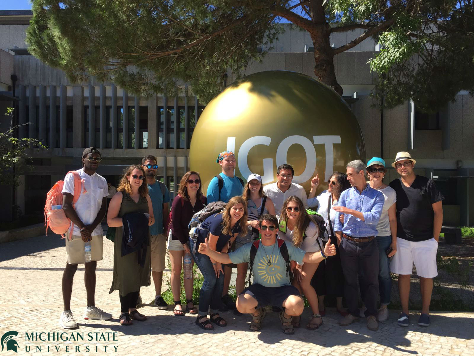 Students from Michigan State University visit IGOT