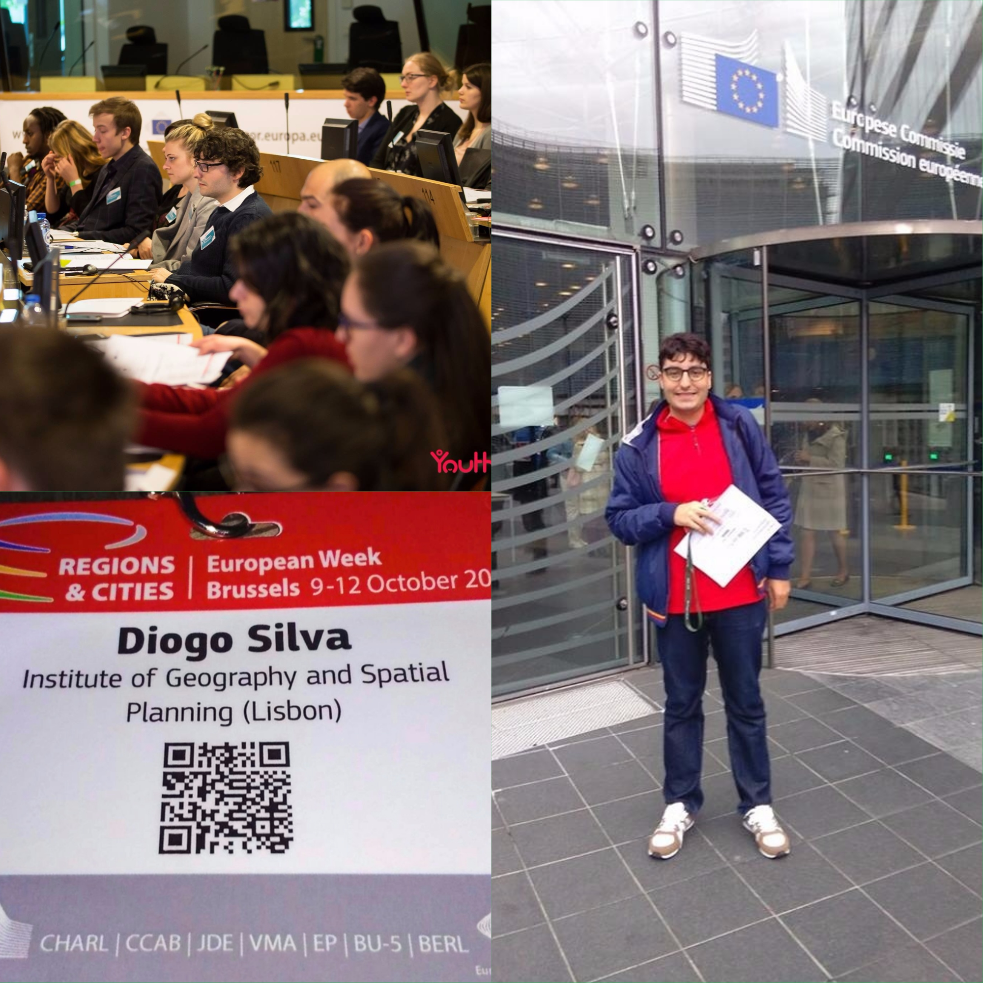 Aluno do IGOT representa Portugal na European Week of Regions and Cities