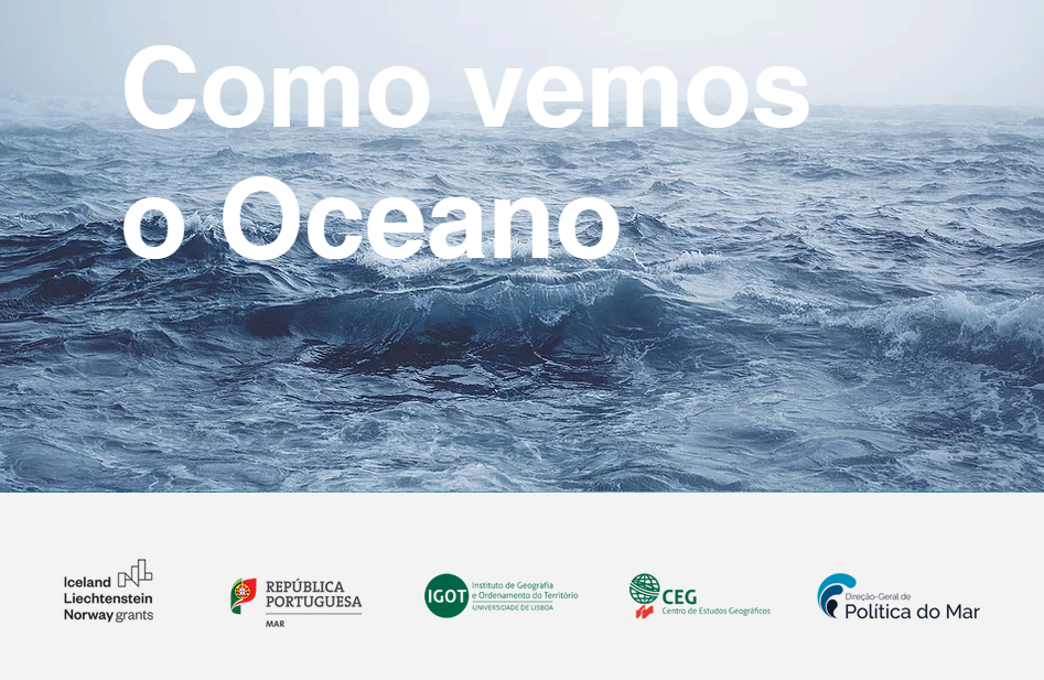 """Projeto """"How we see the Ocean. An interactive experience"""""""